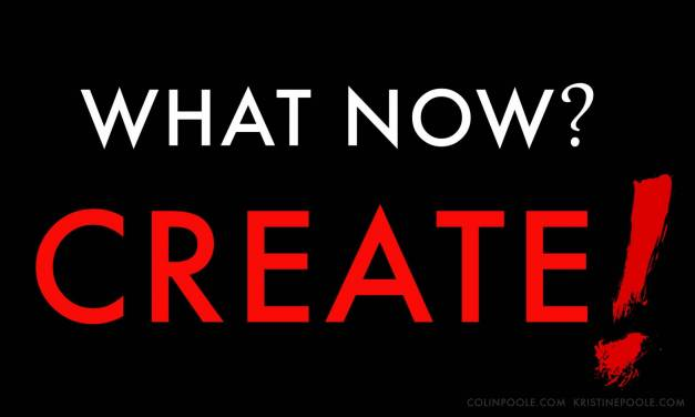 What Now? Create!