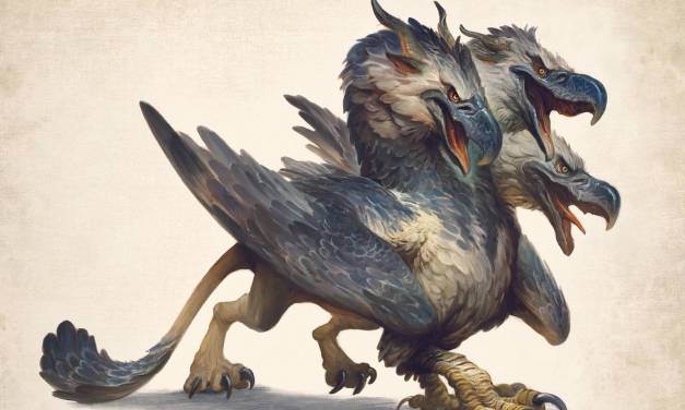 """The Three-Headed Gryphon"""