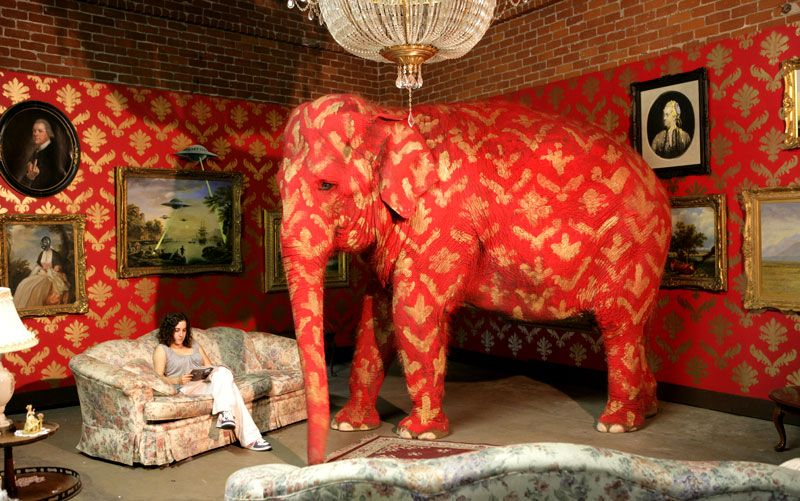 Banksy-Elephant in the room