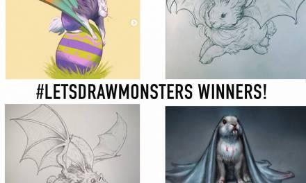 #LETSDRAWMONSTERS Creature Design Challenge