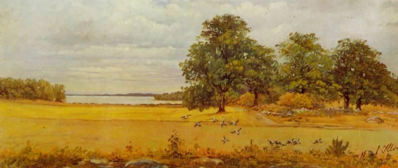 Eftersommar Hilma af Klint 1903