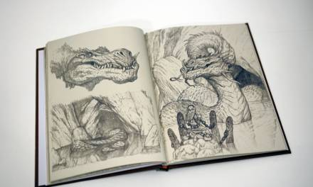 A Plague of Dragons and Daughters of Nereus Sketchbook