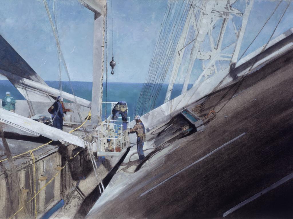 Robert Hunt Bay Bridge series