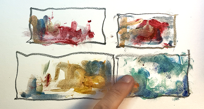 Letting Go to Find the Starting Line – Sketching Towards Unknown Design Potential