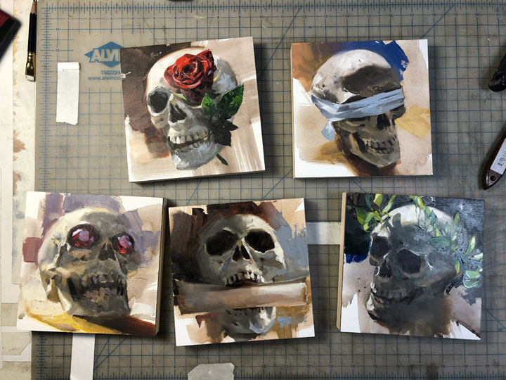 The Skulls of Gideon the Ninth