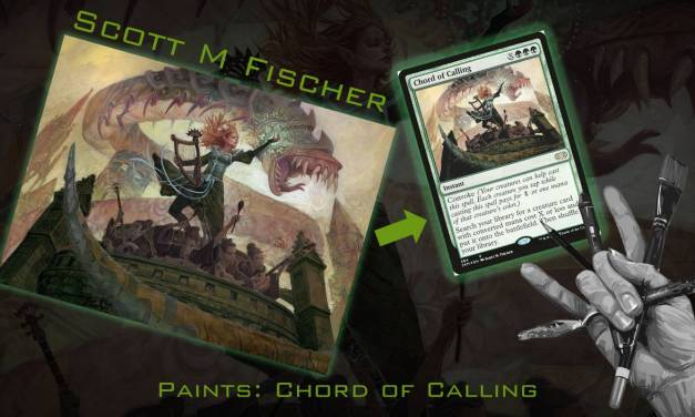 Fischer paints MTG- Chord of Calling