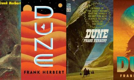 Book Cover Trends thru Time (via DUNE)