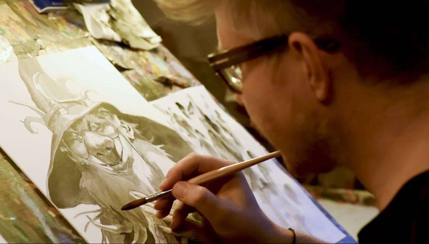 Jesper Ejsing: Acrylic Painting Tutorial