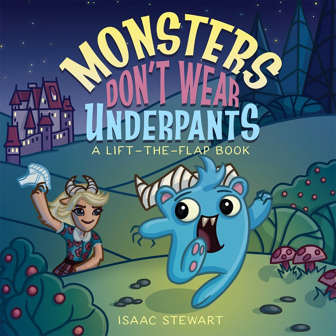 Monsters, Underpants, and Wallets… Oh my!