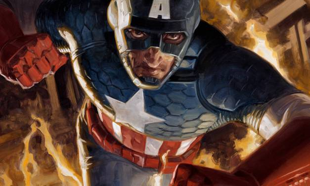 Painting Captain America: My Wet Media Process