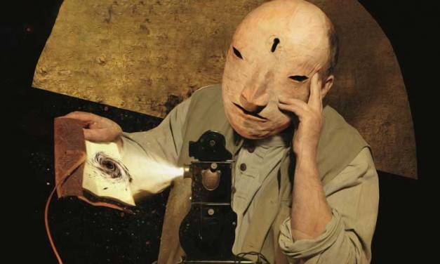 Dave McKean's Studio and 'Postcards from Prague'