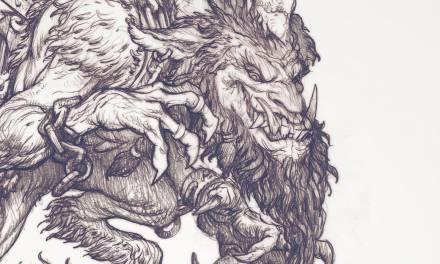 """""""The Krampus"""" Drawing Timelapse"""
