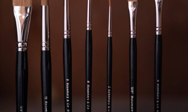 The Brushes I Use