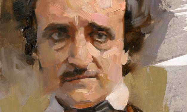 Greg Manchess, Painting Poe