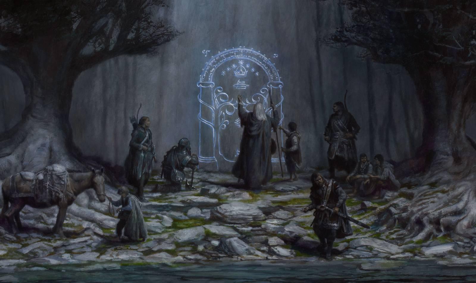 The Walls of Moria