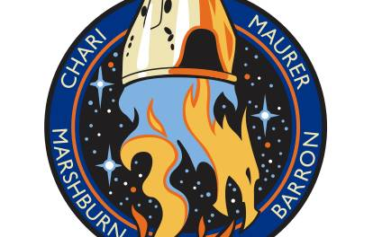 SpaceX Dragon Crew 3 Patch Design