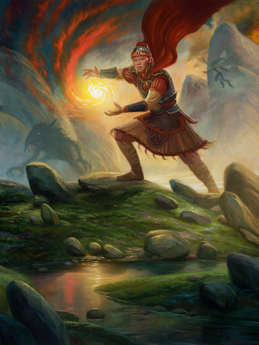 Imperial Recruiter – Oil Painting for Magic the Gathering