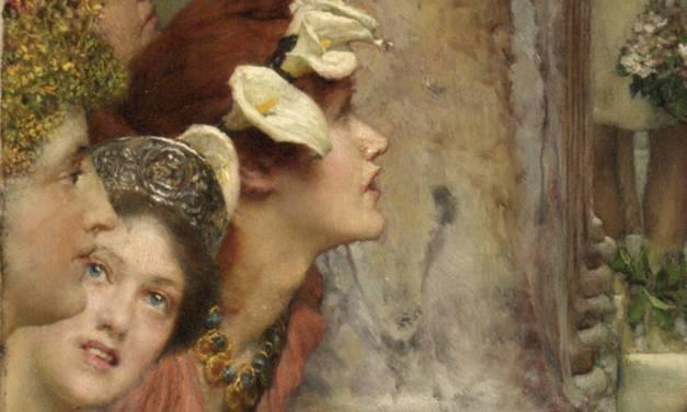 Alma-Tadema and his masterpiece Spring